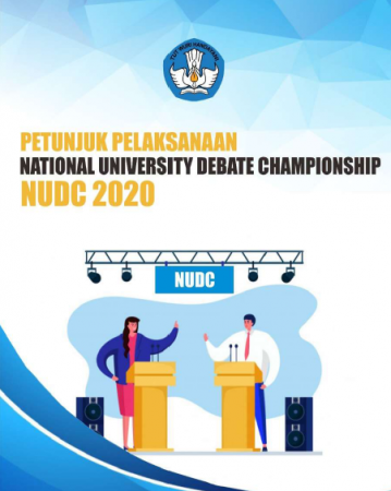 Pelaksanaan National University Debate Champhionship (NUDC) Tahun 2020