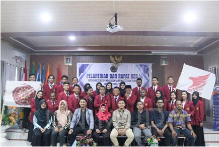 Pelantikan dan Rapat Kerja BEM FST dan FISHUM UNIMUDA Sorong
