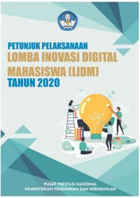 Pemberitahuan Lomba Inovasi Digital Mahasiswa (LIDM) tahun 2020
