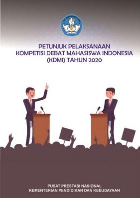Pembukaan Kompetisi Debat Mahasiswa Indonesia (KDMI) tahun 2020