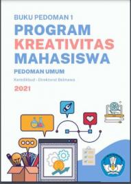 Tawaran Program Kreativitas Mahasiswa 2021